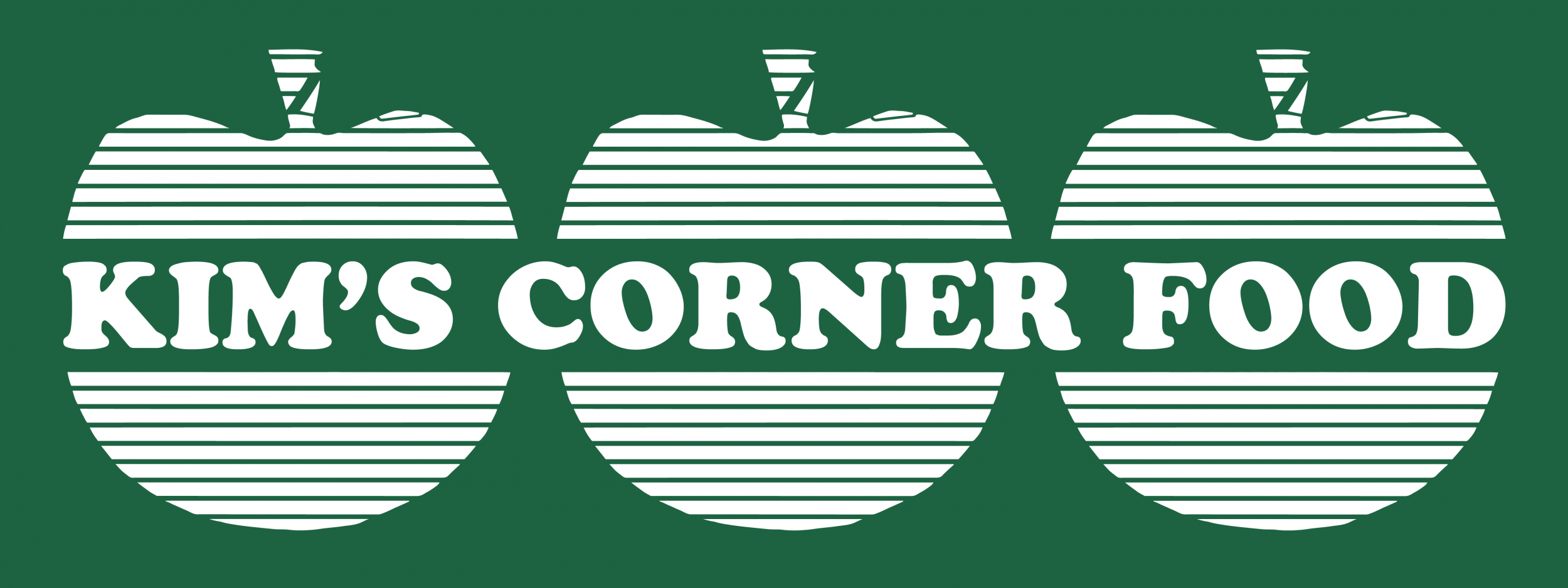 Dan Miller/Thomas Kong (with Steven Husby), Logo for Kim's Corner Food, 2016